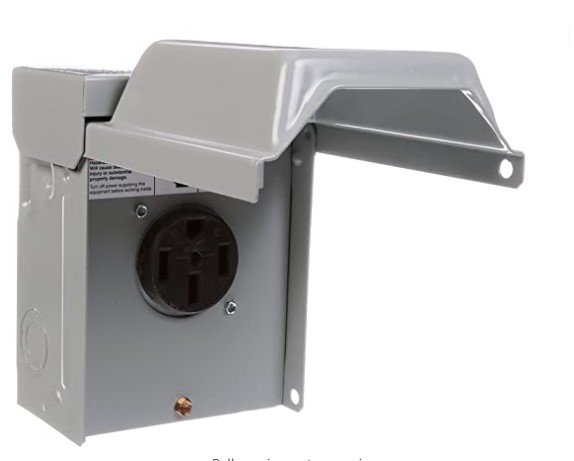 Outdoor NEMA 14-50 outlet